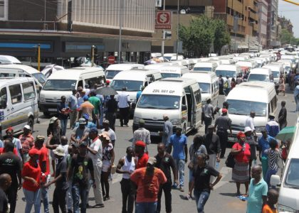 Hammanskraal taxi commuters shut down CBD in protest