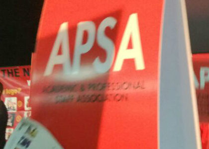 Apsa as a new alternative union in higher education sector